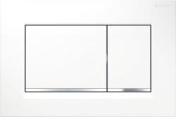 GEBERIT - Sigma30 Ovládacie tlačidlo Sigma30, biela/chróm (115.883.KJ.1)