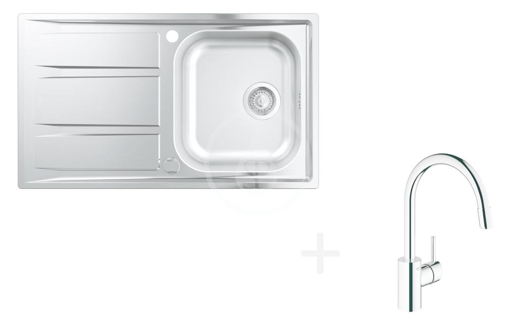 GROHE GROHE - Dřezy Set dřezu K400 a baterie Concetto (31570SD0)