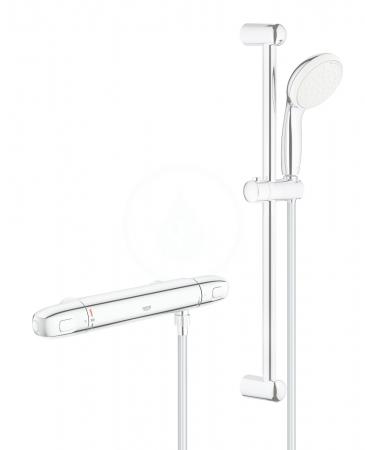 GROHE - Grohtherm 1000 Sprchová súprava s termostatom na stenu, chróm (34152004)