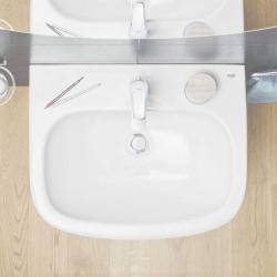 GROHE - Euro Ceramic Umývadlo s prepadom, 600mm x 480 mm, alpská biela (39335000), fotografie 2/2