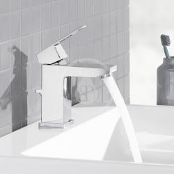 GROHE - Cube Ceramic Umývadlo zápustné, 605mm x 490 mm, PureGuard, alpská biela (3947900H), fotografie 2/2