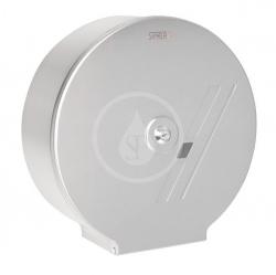 SANELA - Nerezové doplňky Zásobník na toaletný papier z nehrdzavejúcej ocele (pr. 270 mm), matný povrch (SLZN 37)