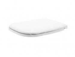 DURAVIT - D-Code WC sedadlo so sklápaním SoftClose, biele (0067390000)