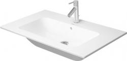 DURAVIT - ME by Starck Umývadlo nábytkové 830x490 mm, s 1 otvorom na batériu, alpská biela (2336830000)