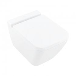 VILLEROY & BOCH - Finion Závesné WC bez vnútorného okraja, 375x560 mm, s CeramicPlus, alpská biela (4664R0R1)