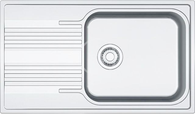 FRANKE FRANKE - Smart Drez SRX 611-86 LB, 860x500 mm, nerezový 101.0395.055