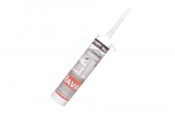RAVAK - Příslušenství Silikónový tmel Professional, biely (X01200)