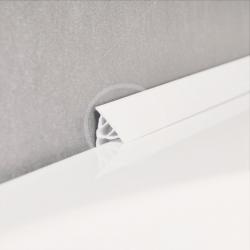 RAVAK - Příslušenství Krycia lišta, 11/2000 mm, biela (XB462000001)