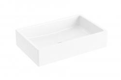 RAVAK - Formy 01 Umývadlo na dosku, 600x390 mm, biela (XJL01260000)