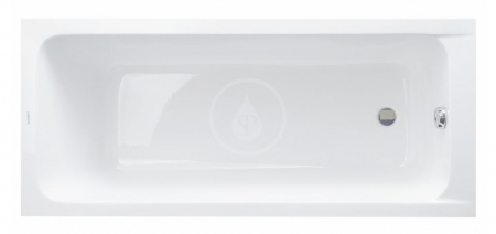 DURAVIT - D-Code Vaňa 1700x700, alpská biela (700098000000000)