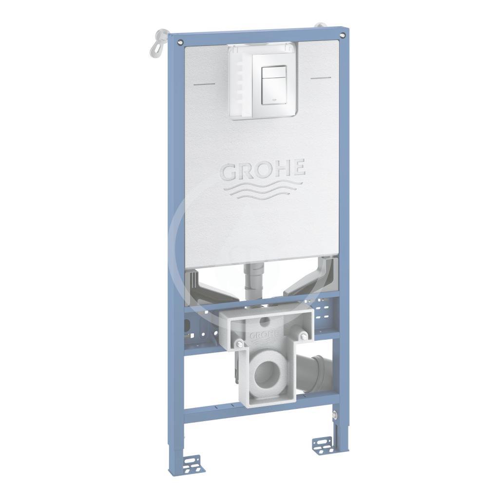 GROHE - Rapid SLX Modul pro závěsné WC s nádržkou a tlačítkem, chrom (39603000)
