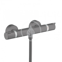 HANSGROHE - Ecostat Comfort Termostatická sprchová  batéria, matná čierna (13116670)