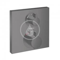HANSGROHE - Ecostat Square Termostatická batéria pod omietku na 2 spotrebiče, matná čierna (15714670)