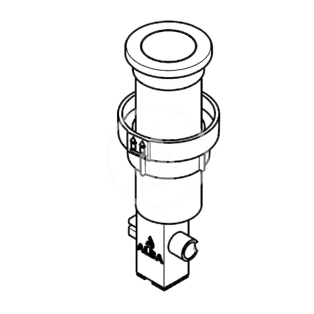 GROHE - Příslušenství Odtoková súprava na drez, kefovaná nehrdzavejúca oceľ (40986SD0)