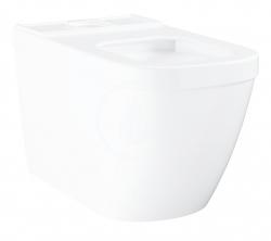 GROHE - Euro Ceramic WC kombi misa, rimless, Triple Vortex, PureGuard, alpská biela (3933800H)