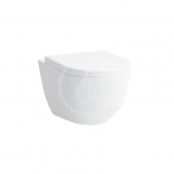 Laufen - Pro Závesné WC, 530x360mm, rimless, s LCC, biela (H8209664000001)