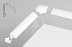RAVAK - Příslušenství Súprava na kryciu lištu 6, biela (B440000001)