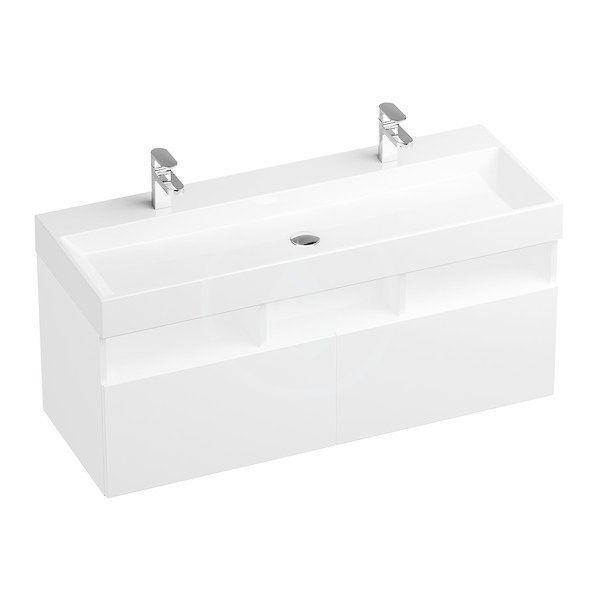 RAVAK - Natural Skrinka pod umývadlo 1200x450x450 mm, biela X000001053