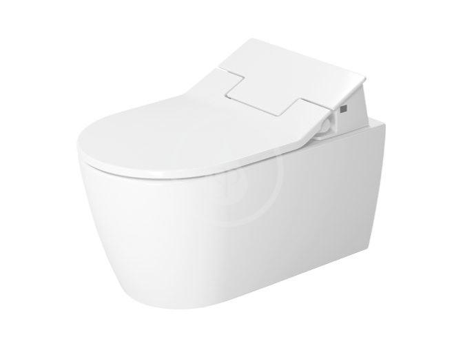 DURAVIT - ME by Starck Elektronické bidetové sedátko SensoWash Slim s keramikou, Rimless, SoftClose, alpská bílá (631000002004300)