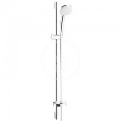HANSGROHE - Croma 100 Súprava ručnej sprchy Vario EcoSmart 9 l/min/nástennej tyče Unica'C 0,90 m, chróm (27653000)