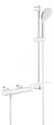 GROHE - Grohtherm 1000 Cosmopolitan Termostatická sprchová batéria M, sprchová súprava 600 mm, chróm (34286002)