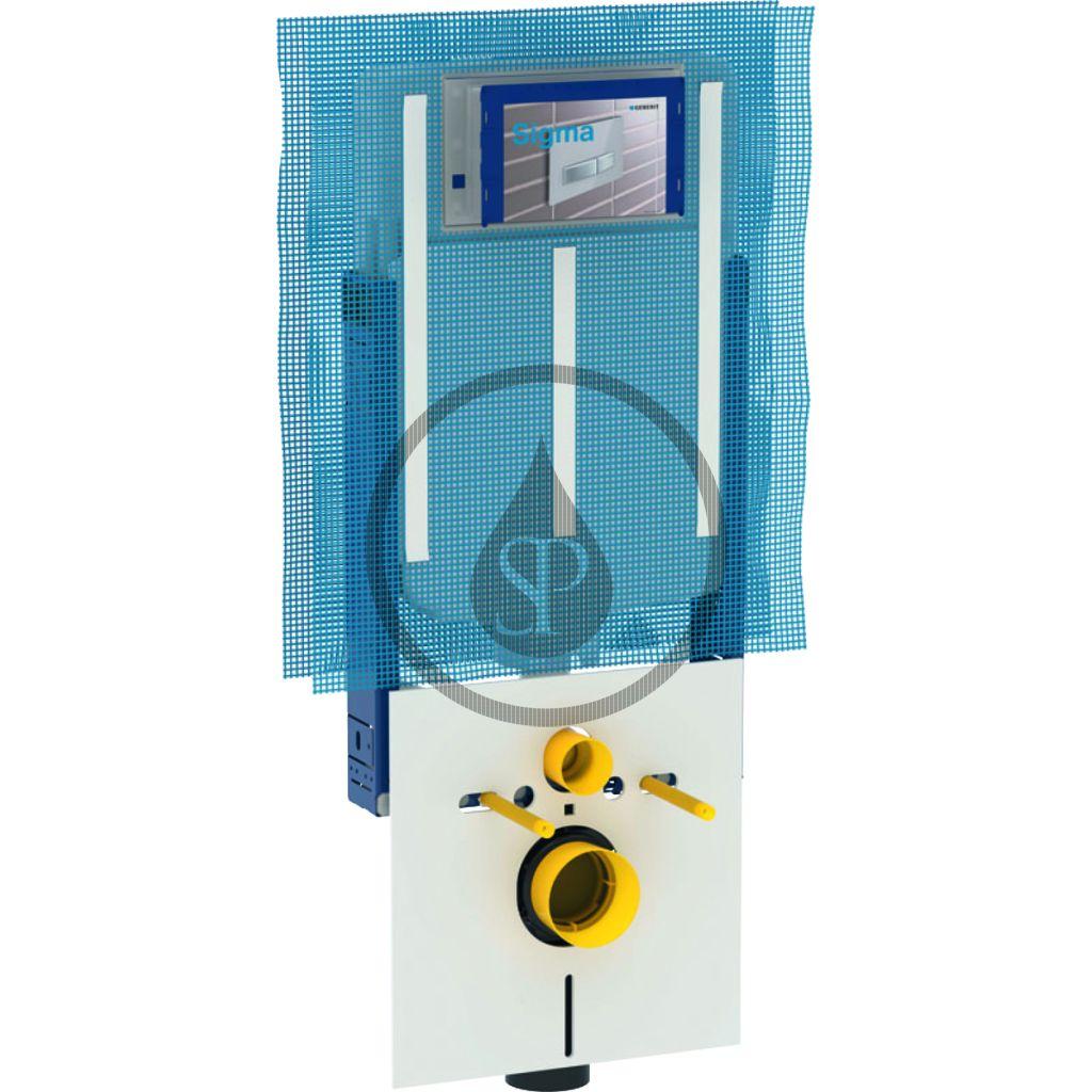 GEBERIT - Kombifix Montážny prvok Kombifix na závesné WC, s nádržkou Sigma 8 cm 110.790.00.1