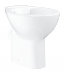 GROHE - Bau Ceramic Stojaci WC, rimless, alpská biela (39430000)
