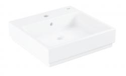GROHE - Cube Ceramic Umývadlo s prepadom, 500x490 mm, PureGuard, alpská biela (3947800H)