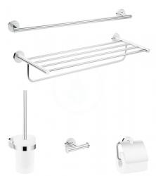 HANSGROHE - Logis Universal Súprava doplnkov do kúpeľne, chróm (41728000)