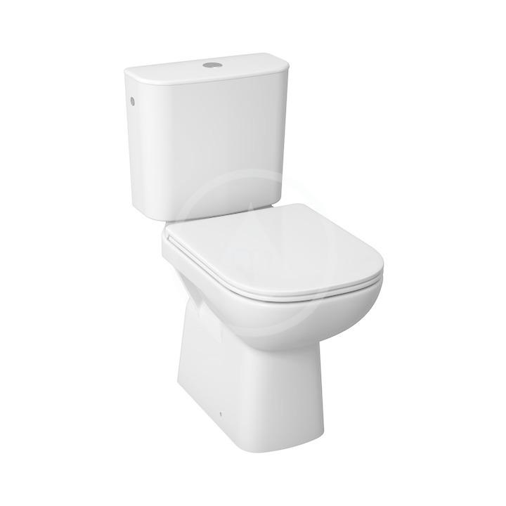 JIKA - Deep WC Kombi včetně nádržky, 650x360x430 mm, spodní odpad, bílá (H8266170002811)