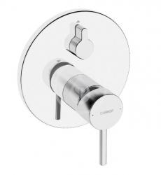 HANSA - Vantis Style Vaňová batéria pod omietku, s prepínačom na 2 výstupy, chróm (82609077)