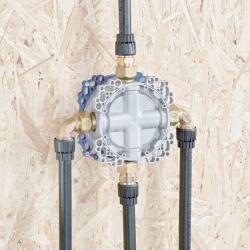 HANSA - Bluebox Montážne teleso na batériu pod omietku DN15 (80000000), fotografie 4/3