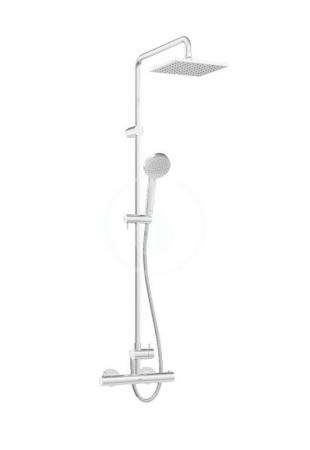 HANSA - Unita Sprchový set 200 s termostatom, 3 prúdy, 2 výstupy, chróm (581491130067)