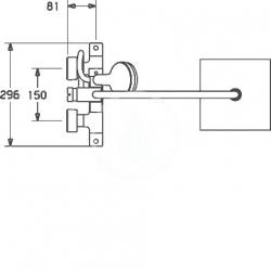 HANSA - Unita Sprchový set 200 s termostatom, 3 prúdy, 2 výstupy, chróm (581491130067), fotografie 6/3