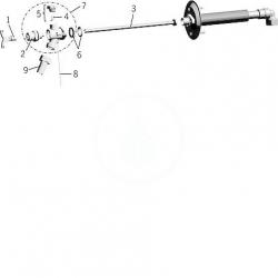 HANSA - Zahradní program Nemrznúci ventil, chróm (69509101), fotografie 2/1