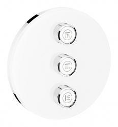 GROHE - Grohtherm SmartControl Trojcestný ovládač pod omietku, mesačná biela (29152LS0)