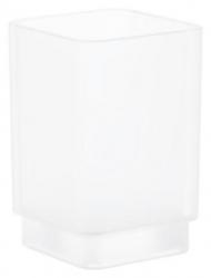 GROHE - Selection Cube Pohár, daVinci saténová biela (40783000)