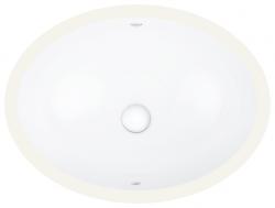 GROHE - Bau Ceramic Umývadlo s prepadom, 560mmx420 mm, alpská biela (39423000)