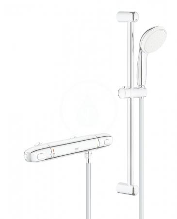 GROHE - Grohtherm 1000 Sprchová súprava s termostatom na stenu, chróm (34153004)