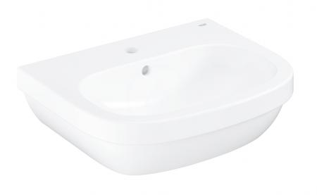GROHE - Euro Ceramic Umývadlo s prepadom, 550mm x 450 mm, alpská biela (39336000)
