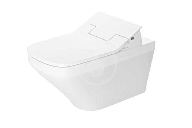 DURAVIT - DuraStyle Elektronická bidetová doska SensoWash Slim s keramikou, Rimless, SoftClose, alpská biela 631001002004300