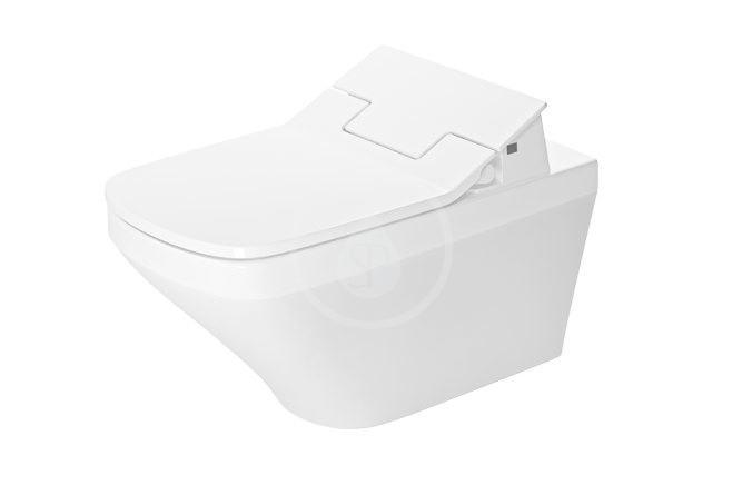 DURAVIT - DuraStyle Elektronické bidetové sedátko SensoWash Slim s keramikou, Rimless, SoftClose, alpská bílá (631001002004300)