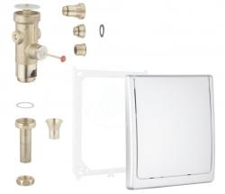 GROHE - Tlačné ventily Tlakový splachovač pod omietku, chróm (42901000)