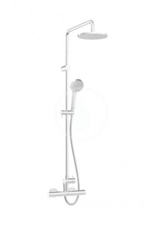 HANSA - Unita Sprchový set 200 s termostatom, 3 prúdy, 2 výstupy, chróm (58149103)