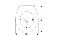 IDEAL STANDARD - Eurovit WC sedadlo SoftClose, biela (W301801), fotografie 2/1