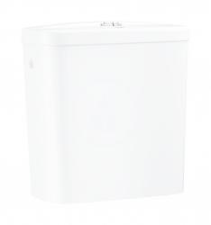 GROHE - Bau Ceramic Splachovacia nádrž k WC kombi, 343x153 mm, bočný prívod vody, alpská biela (39437000)