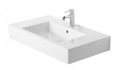 DURAVIT - Vero Jednootvorové umývadlo do nábytku s prepadom, 850 mmx490 mm, biele (0329850000)