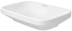 DURAVIT - DuraStyle Bezotvorová umývadlová misa bez prepadu, brúsená, 600 mmx380 mm, biela – umývadlová misa, s WonderGliss (03496000001)