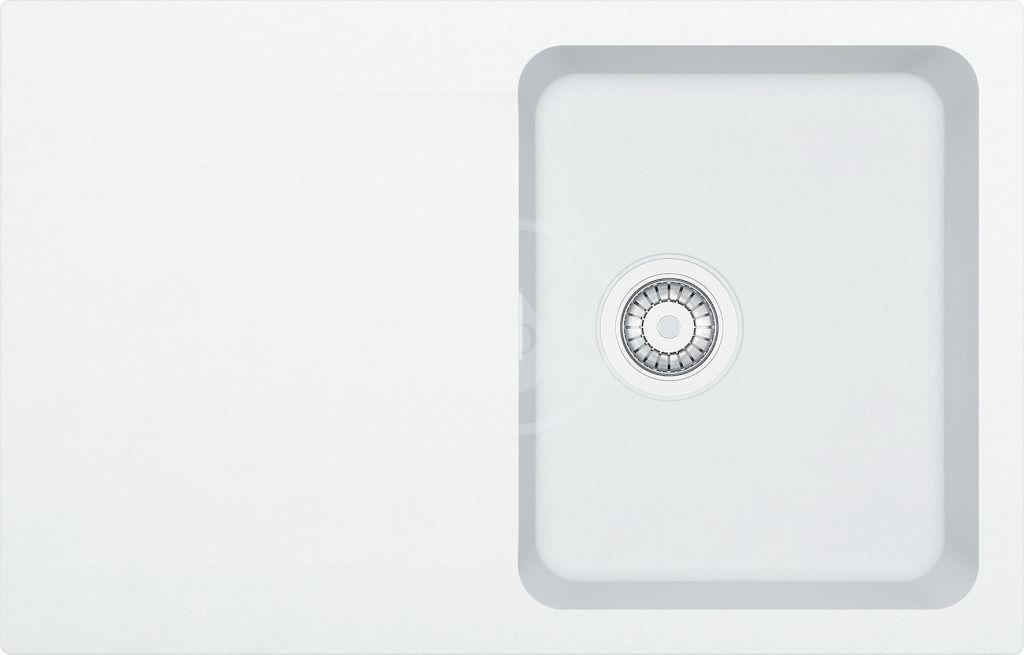 FRANKE FRANKE - Orion Tectonitový drez OID 611-78, 780x500 mm, biela 114.0288.585