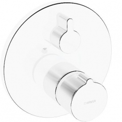HANSA - Home Termostatická vaňová batéria pod omietku, s 2 výstupmi, chróm (88629045), fotografie 6/3